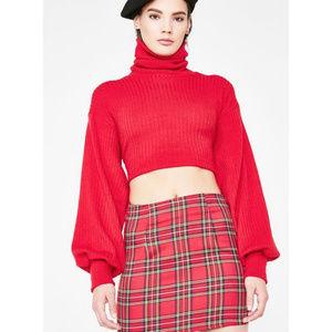 NWT! Dolls Kill Jagger & Stone Gwen Skirt Size 12